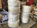 "White FGL Tape 6""X50 YDS/Roll"